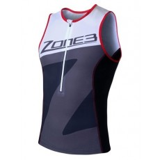 Top de Triatlon Zone 3 Lava