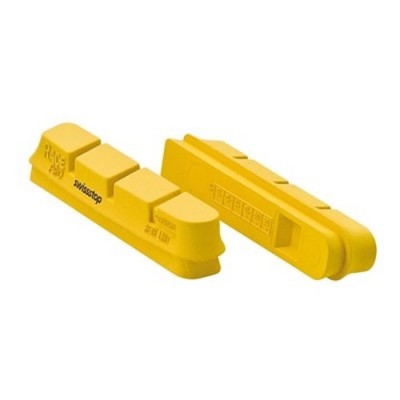Kit 4 Zapatas freno Swiss Stop Flash Amarillas carretera