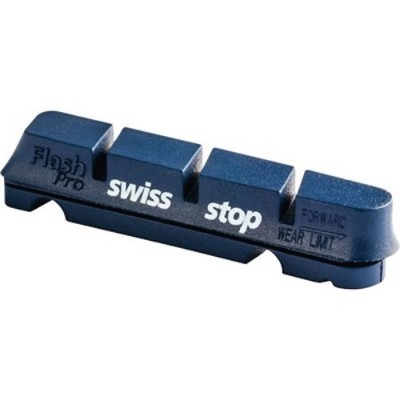 Kit 4 Zapatas freno Swiss Stop Flash negras carretera