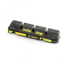 Kit 4 Zapatas freno Swiss Stop Flash Negras Carbono