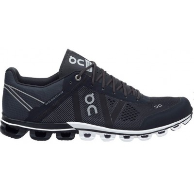 Zapatillas On Running CloudFlow Black & Asphalt