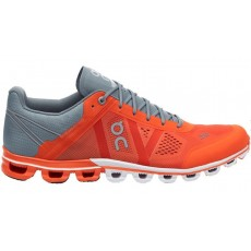 Zapatillas On Running CloudFlow Orange & Glacier