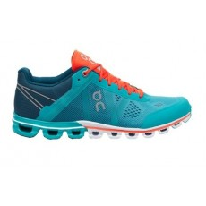 Zapatillas On running Mujer CLOUDFLOW Atlantis & Flame