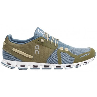 Zapatillas On-Running CLOUD Hombre Olive/Grey