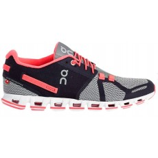 Zapatillas On-Running CLOUD Mujer Grey & Neon Pink