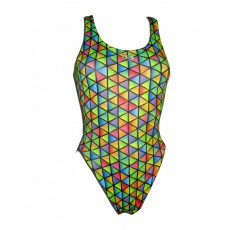 Bañador Mujer Disseny Sport DS Triangles Tirante Ancho