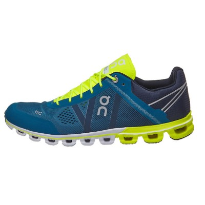 Zapatillas On Running CLOUDFLOW Petrol/neon