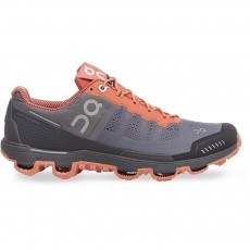 Zapatillas On running Cloud Venture Mujer Grey/ lava