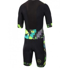 Mono triatlon Manga corta Zone 3 Activate plus hombre Electric Sprint