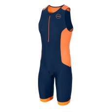 Mono de triatlón Aquaflo plus Navy Orange