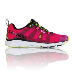 Salming Enroute Pink Glo Mujer