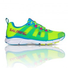 Salming Enroute Safety Yellow Mujer