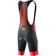 Culotte Corto Bike Effektor Power Bike X-Bionic Negro rojo