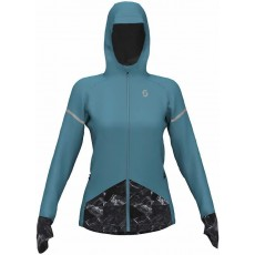 Chaqueta Cortavientos Scott Kinabalu Run Merino Wb Mujer Indian Teal