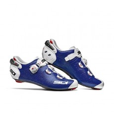 Zapatilla Sidi Wire 2 Carbon Azul/Blanco
