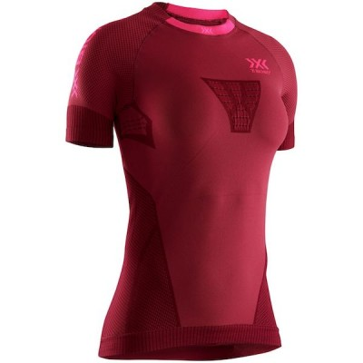 Camiseta X bionic Regulator Run Speed Mujer Naranja