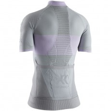 Maillot X Bionic Regulator Bike Race Zip Mujer Dolomite Grey