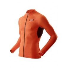 Maillot X Bionic M/l Full Zip Bike The Trick Evo