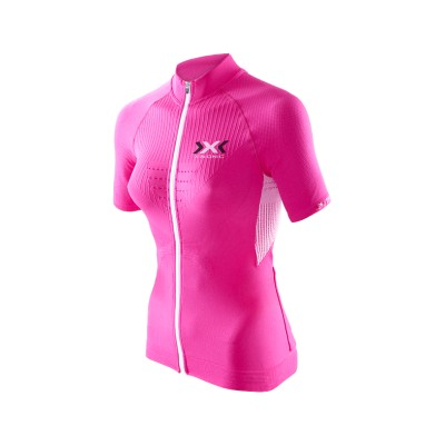 Maillot M/c Full Zip Bike The Trick Evo X-Bionic Mujer