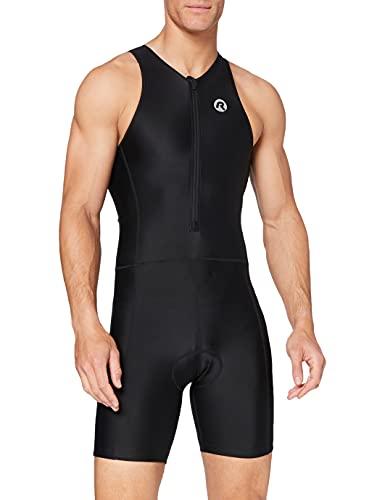 Rogelli - Traje de triatlón para Adulto, Color Negro, Primavera/Verano, Hombre, Color Negro -...