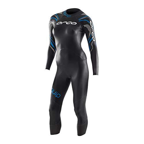 ORCA Equip - Traje de neopreno para mujer, color negro y XS