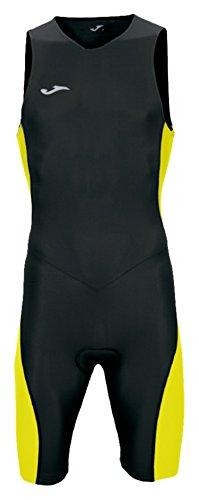 Joma - Mono triathlon negro-amarillo s/m para hombre, negro/amarillo, M