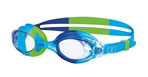 Zoggs Gafas de natación, Bebés Unisex, Azul/Verde/Claro, 0-6 años