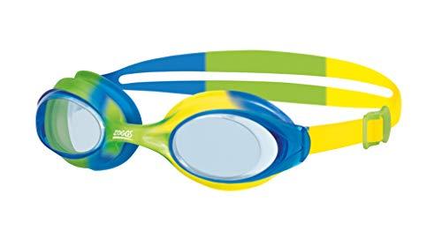 Zoggs Gafas de natación, Juventud Unisex, Verde/Azul/Amarillo/Tinte, 6-14 años