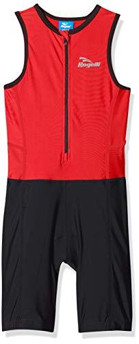 Rogelli Triathlon - Mono de triatlón, Color Azul, Primavera/Verano, Infantil, Color Negro - Negro y...