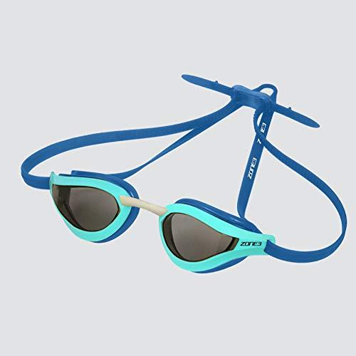 ZONE3 Viper - Gafas de natación (talla única), color azul y turquesa