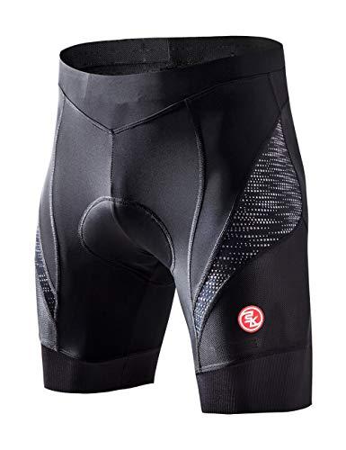 Souke Sports Pantalones Ciclismo Hombre 4D Acolchados, Culotte Ciclismo Hombre, Pantalones Bicicleta...