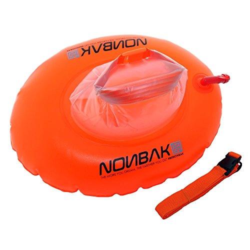 Nonbak Boya natación estanca Donut 10L Bolsa estanca (Nadadores de Aguas Abiertas, Kayak, Paddle...