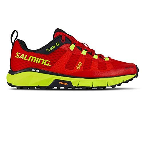 Salming Women Trail 5 Trail Running Shoe Running Shoes Grey - Pink 5