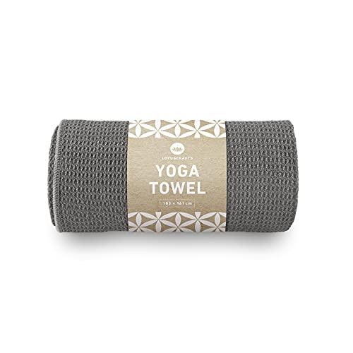 Lotuscrafts Toalla Yoga Antideslizante Grip - Antideslizante y de Secado Rápido - Manta Yoga...