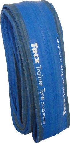 Neumático para rodillos de entrenamiento Tacx T1395, Cubierta, Unisex, Azul, 26' x 1.25'
