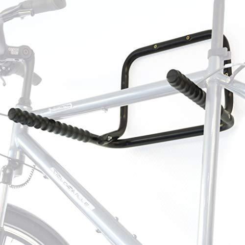 Hinrichs Soporte Bicicletas Pared 2 Bicis (máx. 55 kg) - Colgar Bici Pared Horizontal - Soporte...