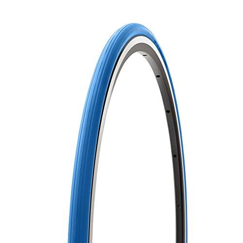 Tacx T-1390 - Cubierta de ciclismo para rodillos, 700 x 23C, azul