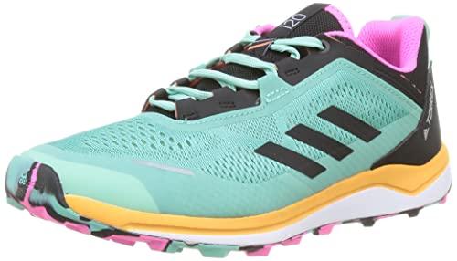 adidas Terrex Agravic Flow K, Zapatillas de Trail Running Unisex Adulto, MENACI/NEGBÁS/NARCHI, 39...