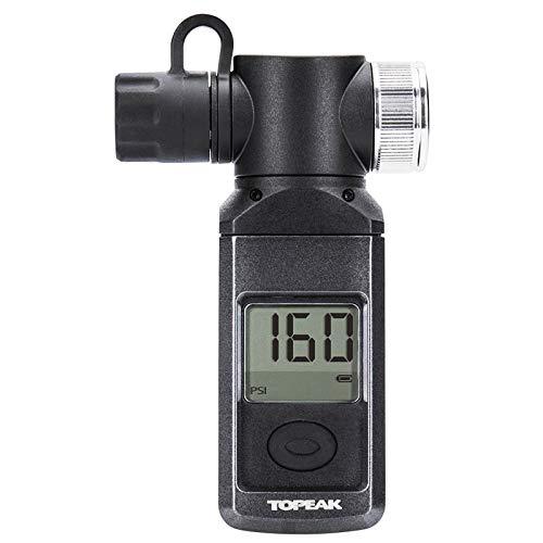 Topeak Shuttle Gauge Digital Manometer Fahrrad PKW Kompakt Luft Pumpe Presta Schrader Dunlop,...