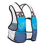 Ultimate Direction Race Vest 4.0 Medium Signature Blue, mochila hidratante para hombre, azul