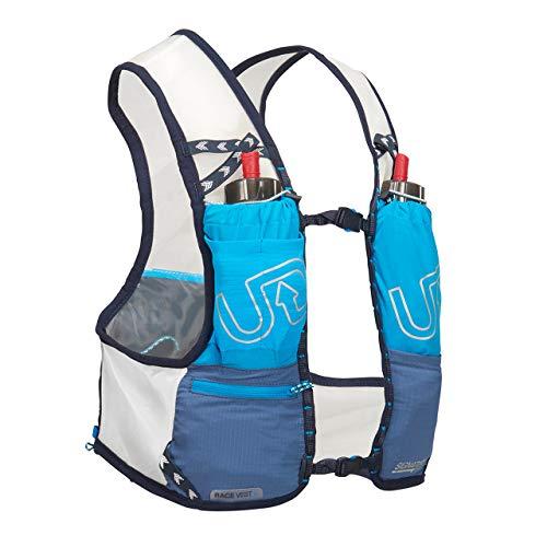 Ultimate Direction Race Vest 4.0 Small Signature - Mochila hidratante para hombre, color azul