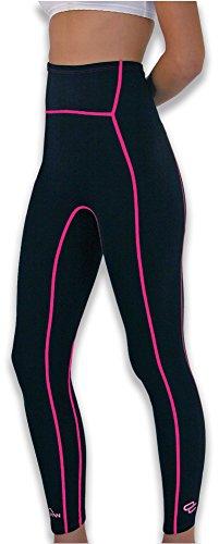 Vulkan Open Cells Pantalones Largos, Mujer, Negro, XL