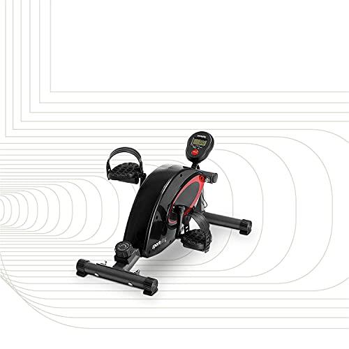 SportPlus minibicicleta estática, ordenador de entrenamiento, sistema de freno magnético, alta...