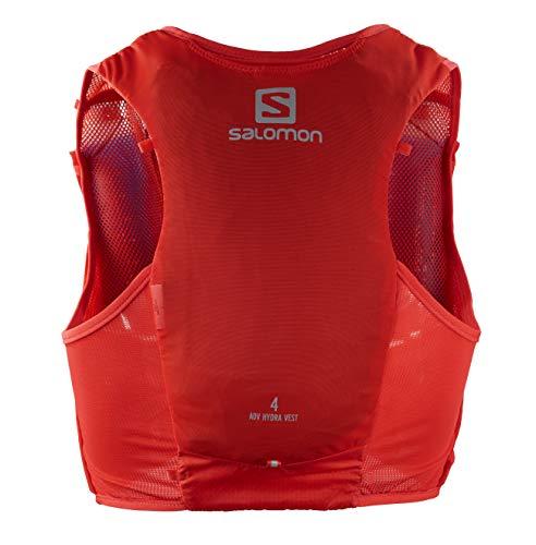SALOMON ADV Hydra Vest 4 Chaleco de hidratación 4L, 2 Botellas SoftFlask 500 ml Incluidas,...