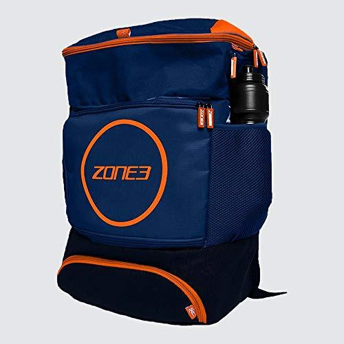 ZONE3 Award Winning Transition Mochila, Azul Oscuro y Naranja, tamaño único