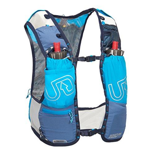 Ultimate Direction Ultra Chaleco V4 HOMBRE CORRER Hidratación Chaleco Azul - Azul, Small