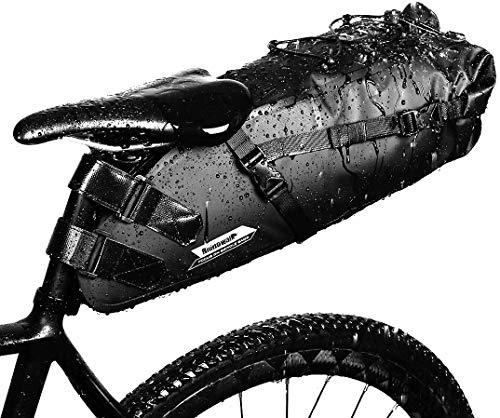 GARDOM Bolsa de Sillín Bici 1.5L /10L - Bolsa Bicicleta Impermeable Ajustable para Ciclismo   MTB  ...