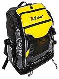 TRISEVEN transición Mochila Bolsa de triatlón Unisex Transition Backpack Negro