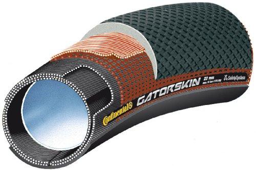 Continental Cont-7 Tubular de Carretera, Unisex Adulto, Negro, 28' x 25mm