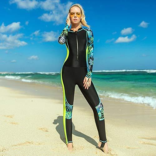 Una Pieza de Surf de Pesca submarina Trajes de baño del Mono Acolchado Buceo Triatlón Juego Mojado...